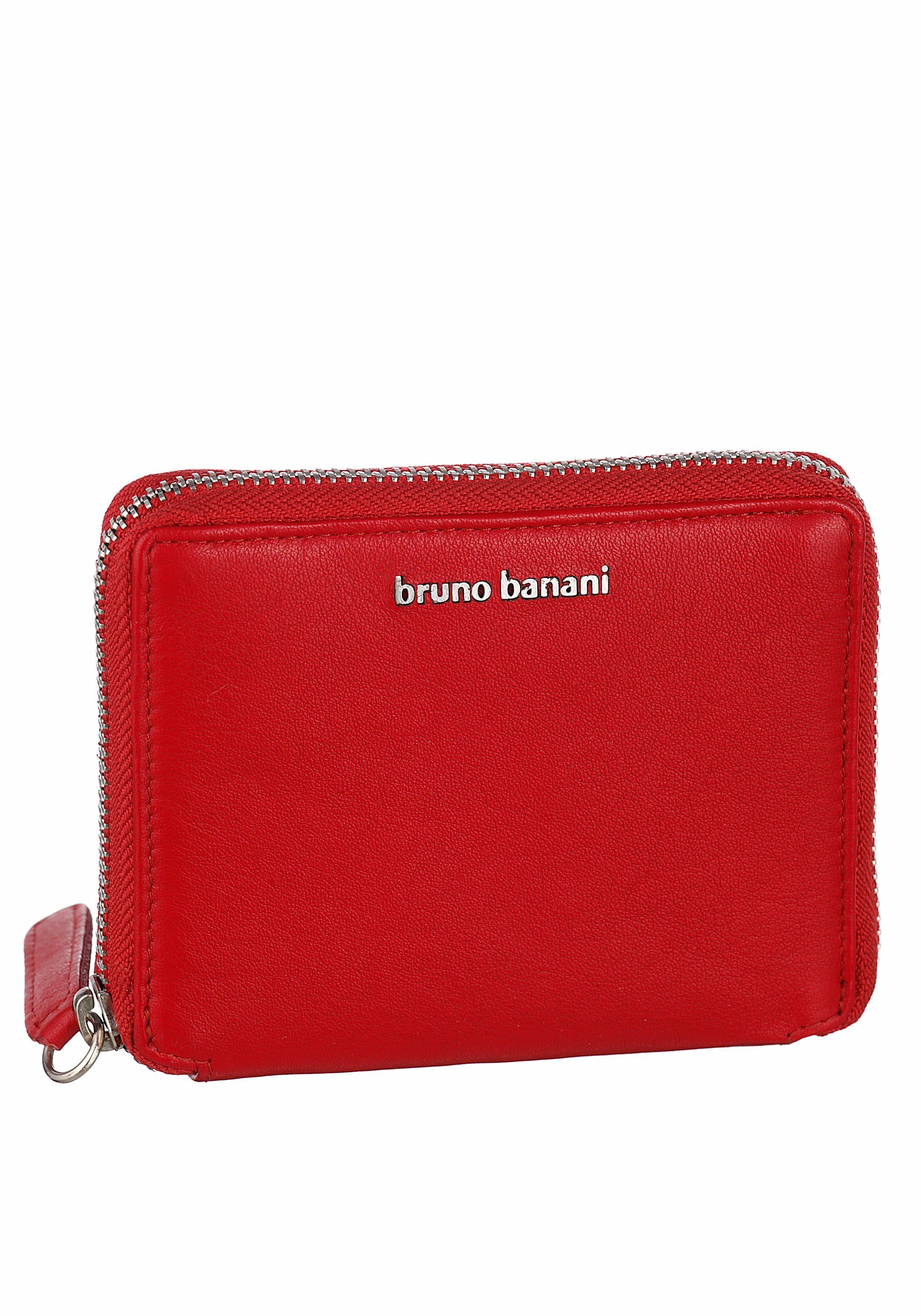 2a101e1b7dd Bruno banani dames portemonnee rood leder Rode portemonnee dames bruno  banani leder ...