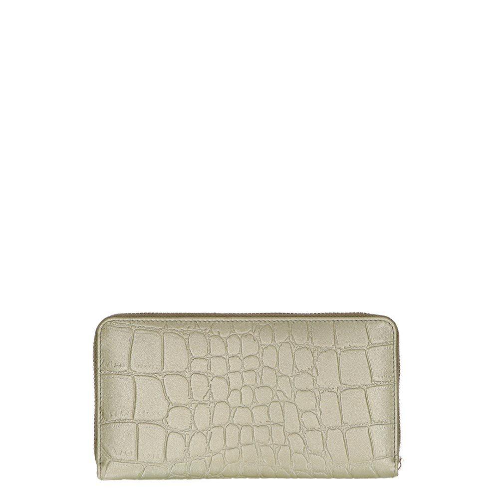 d66d04b6e9b Loulou essentiels dames portemonnee groen leer kopen online
