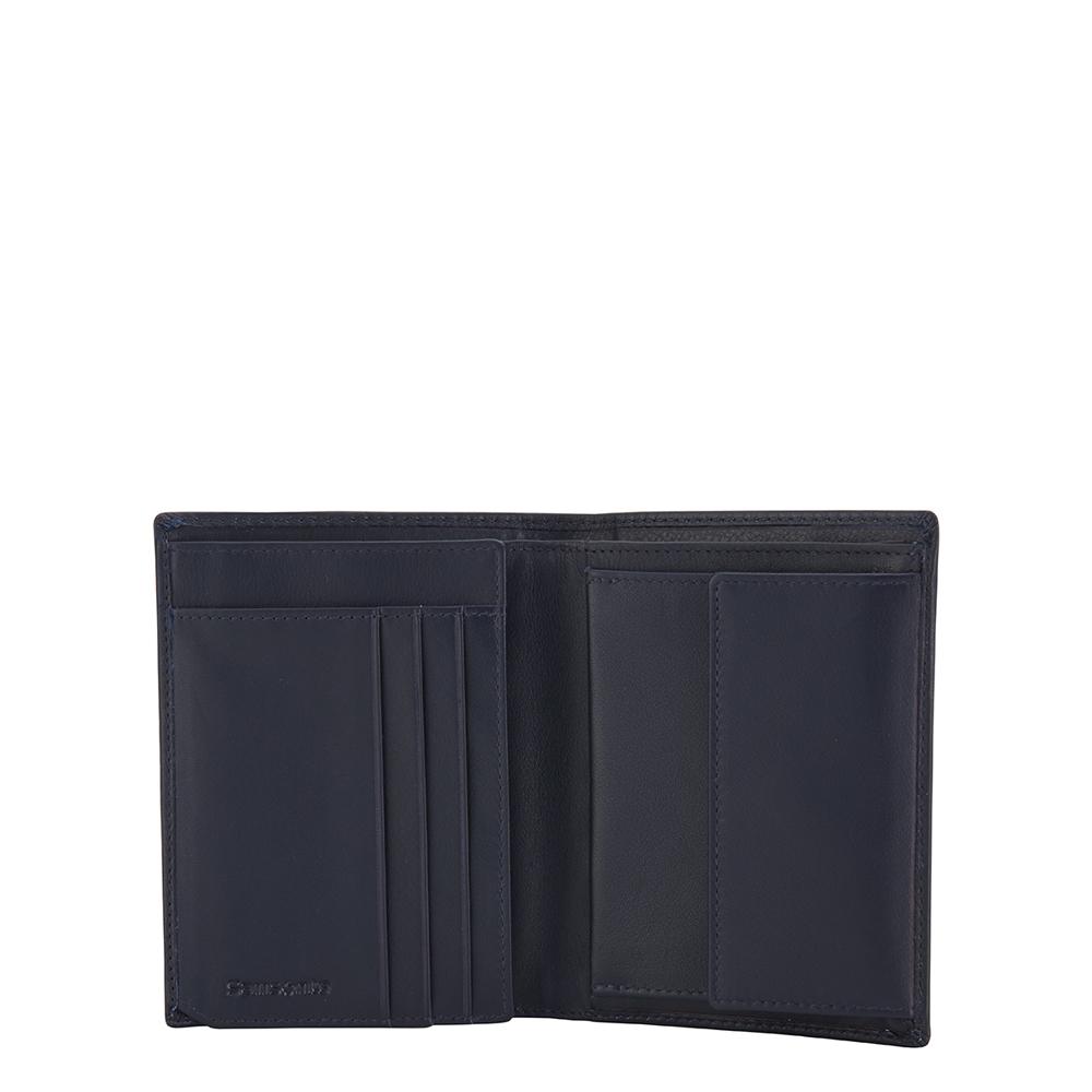 376e2ba7c33 Samsonite heren portemonnee blauw leer kopen online