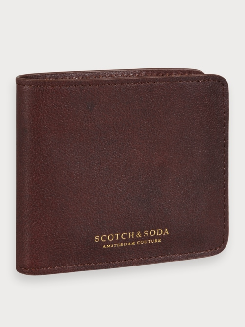 Scotch & soda heren portemonnee bruin