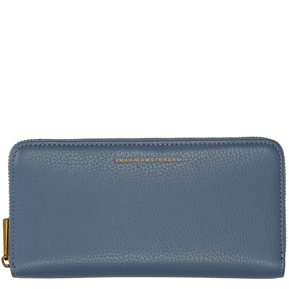 701ef3effda Smaak amsterdam dames portemonnee blauw leer kopen online