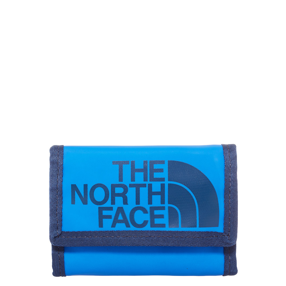 The north face dames portemonnee blauw nylon