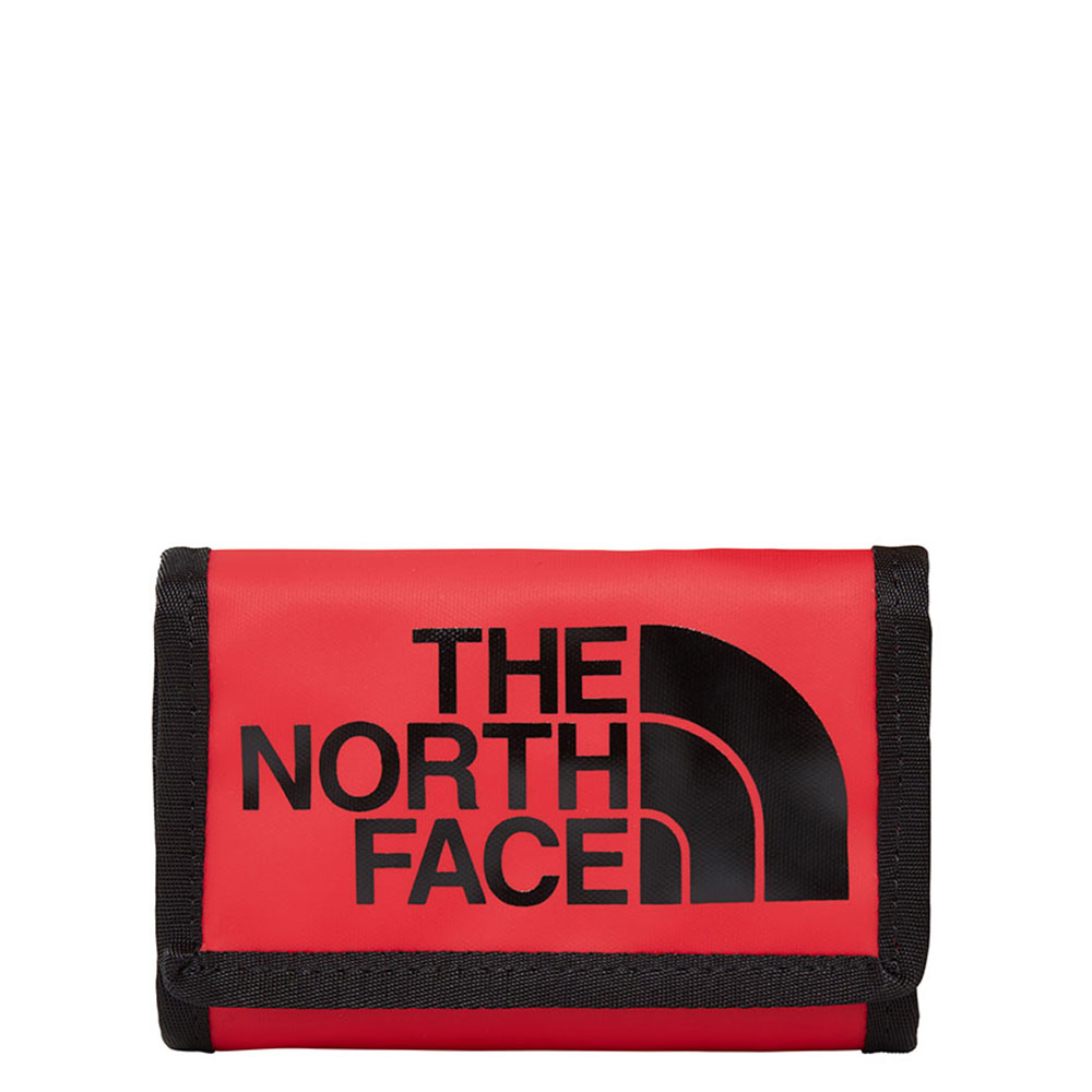 The north face dames portemonnee rood nylon